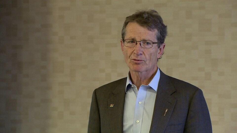Le député libéral de l'Alberta, David Swann