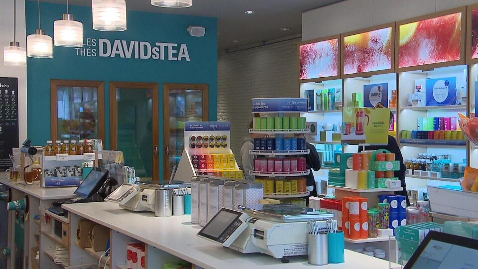 Une boutique Davids Tea.