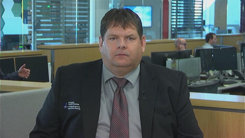 Le chef de la Commission du sport de combat du Nouveau-Brunswick, Denis Léger.