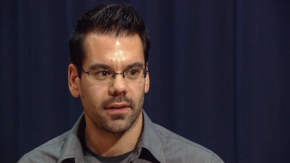 Derek Stephenson en 2012.