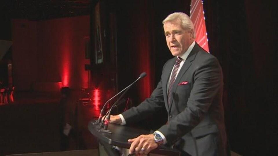 Le premier ministre de Terre-Neuve-et-Labrador, Dwight Ball