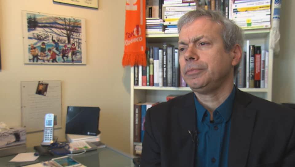 Dominique Arel, titulaire de la Chaire d'Études ukrainiennes à l'Université d'Ottawa