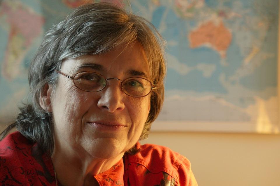 Dominique Payette, auteure du rapport «L'information à Québec, un enjeu capital».