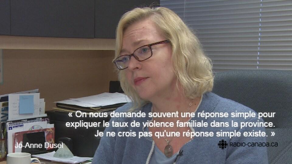 Jo-Anne Dusel, coordonnatrice provinciale de PATHS.
