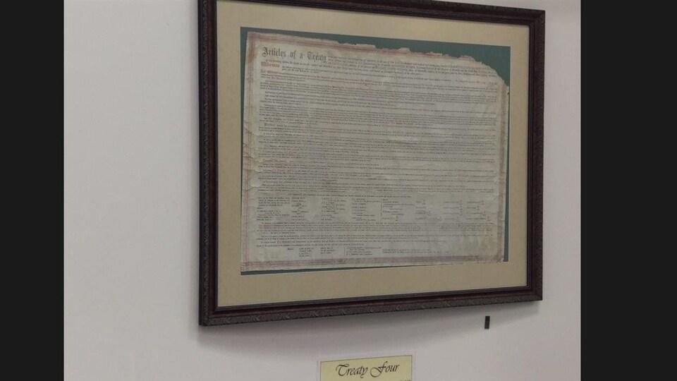 Une copie  du Traité 4 datant des années 1910-1920.