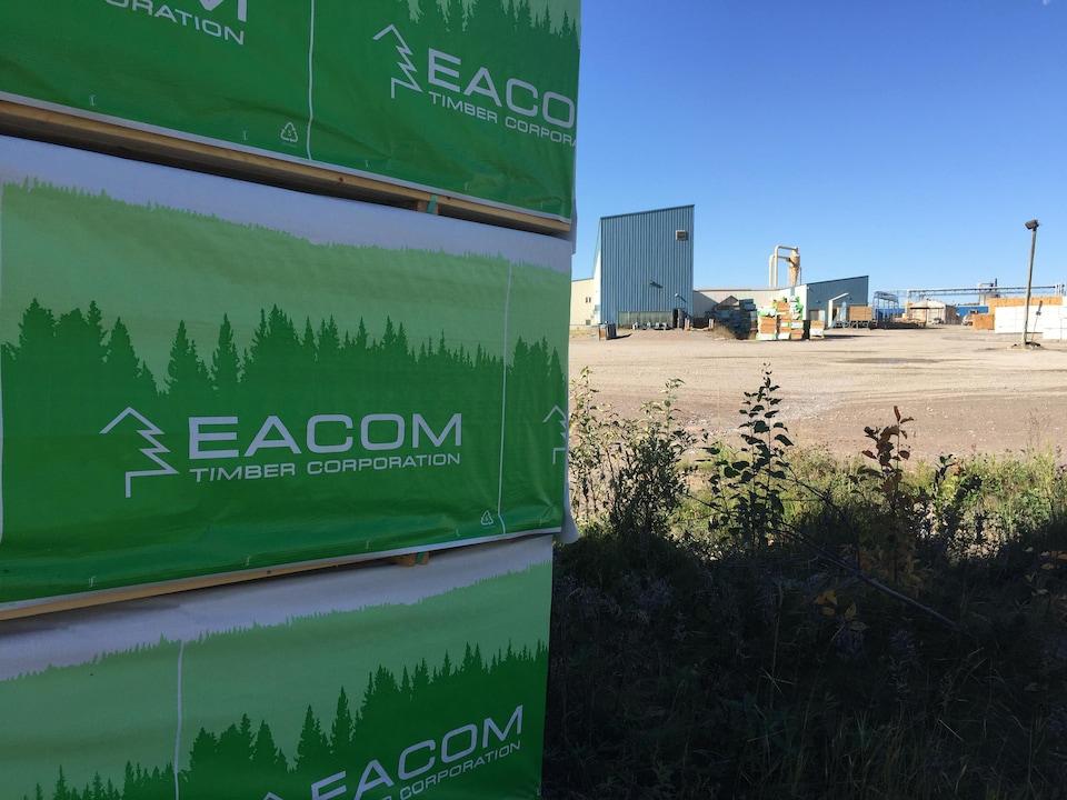 L'usine Eacom, à Elk Lake.