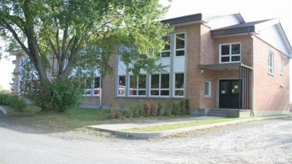 L'école de Saint-Modeste.