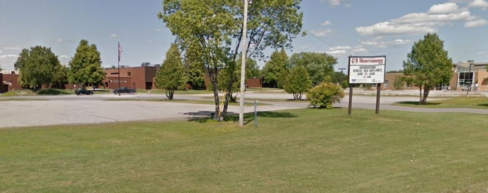 L'école secondaire Northern Secondary School de Sturgeon Falls, à Nipissing Ouest.