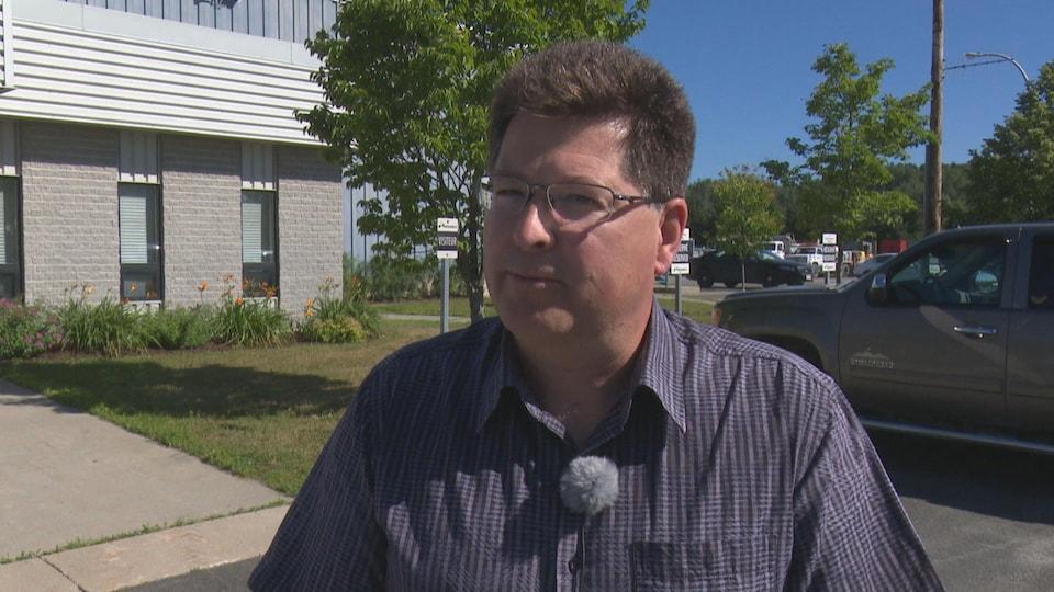 Paul Dionne, directeur des travaux publics à la ville d'Edmundston.