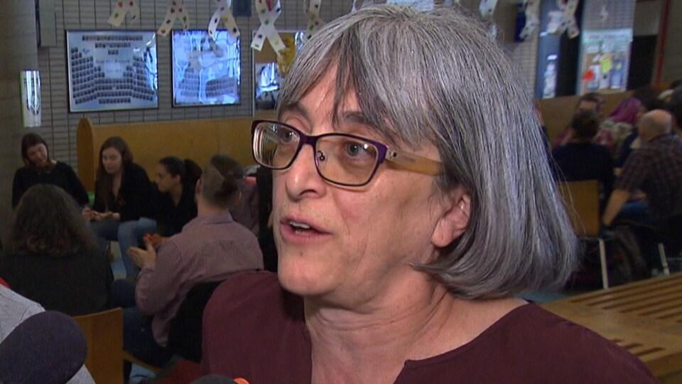 Marielle Nadeau, enseignante à la Commission scolaire de Montréal.