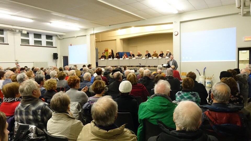 Assemblée d'information sur l'avenir de l'église Saint-Jérôme