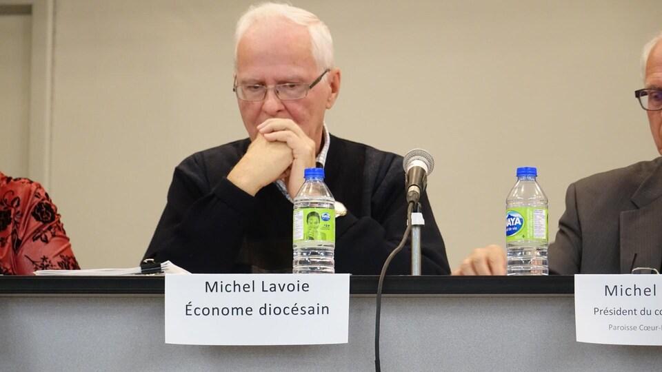 L'économe diocésain Michel Lavoie