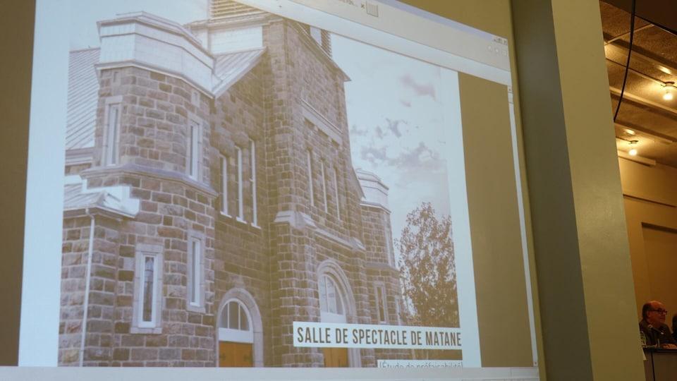 La Fabrique propose que l'église soit transformée en salle de spectacle