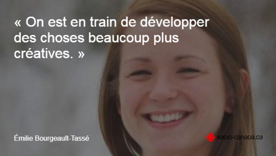 Émilie Bourgeault-Tassé citation