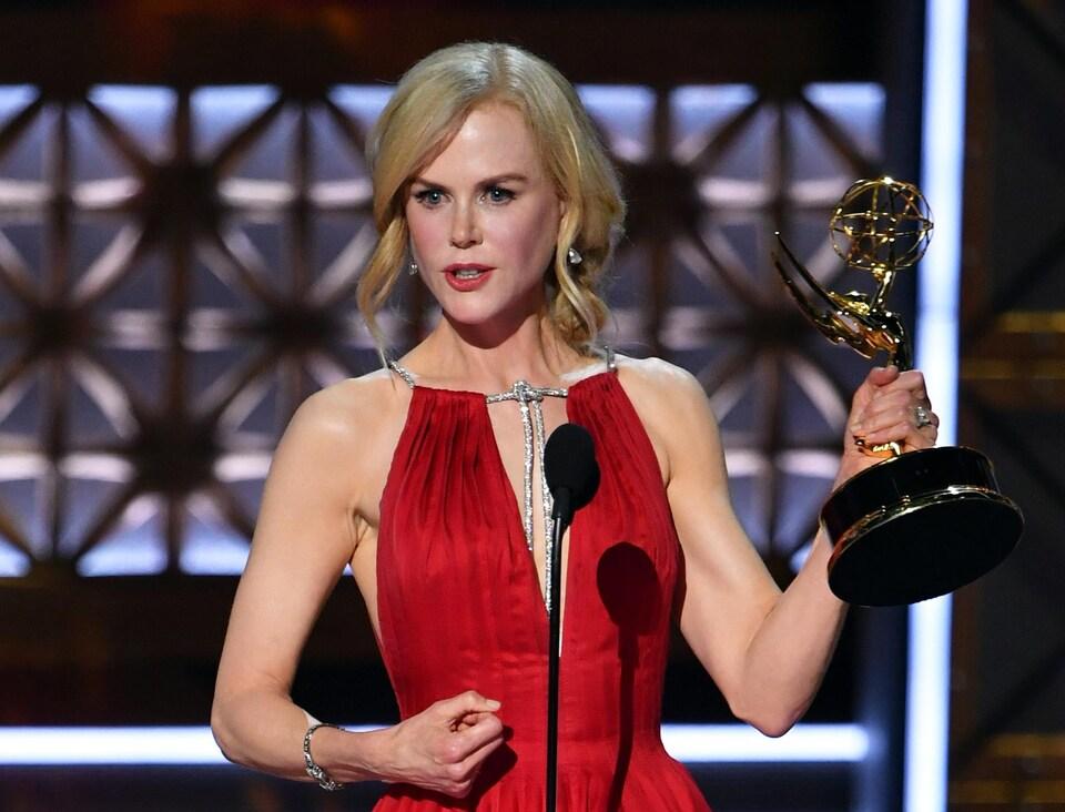 Nicole Kidman aux 69es prix Emmy en 2017