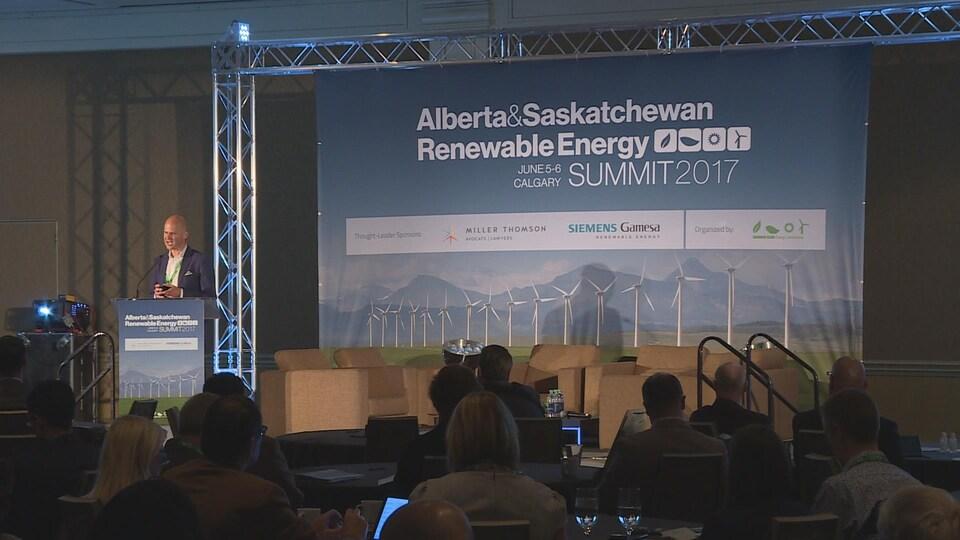 Le Sommet sur l'énergie renouvelable en Alberta et en Saskatchewan