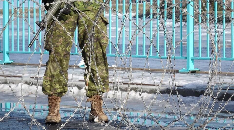 Entraînement des réservistes des Forces armées