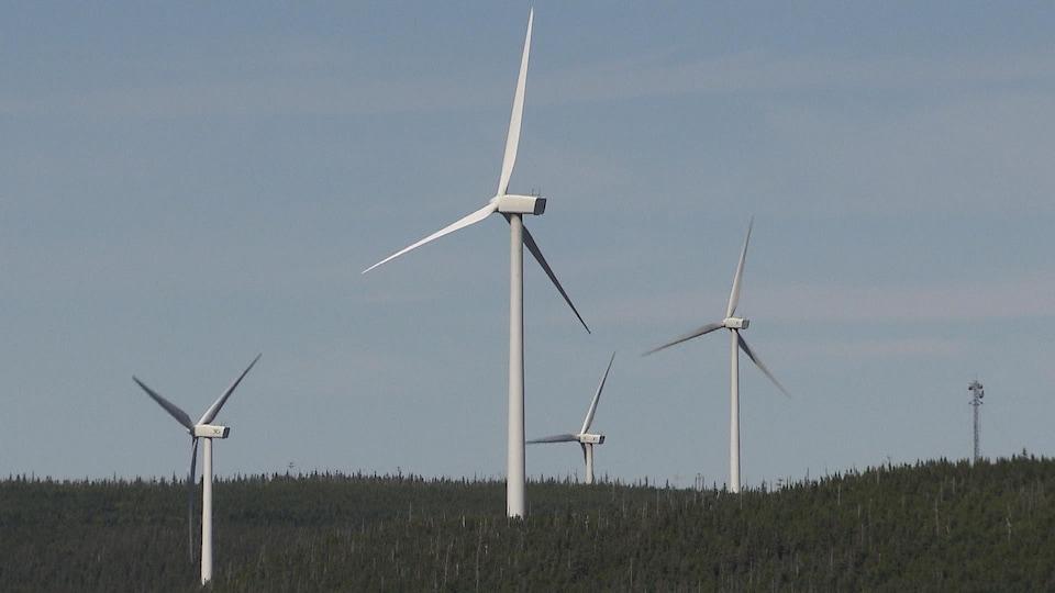 Parc éolien en Gaspésie