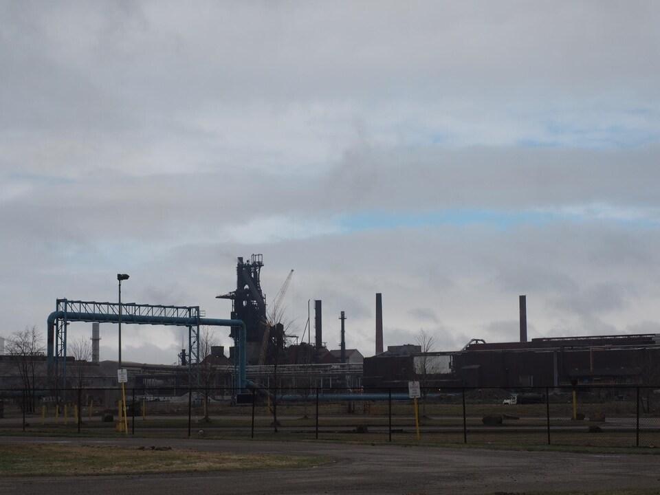 L'aciérie Essar Steel Algoma de Sault-Sainte-Marie en Ontario.