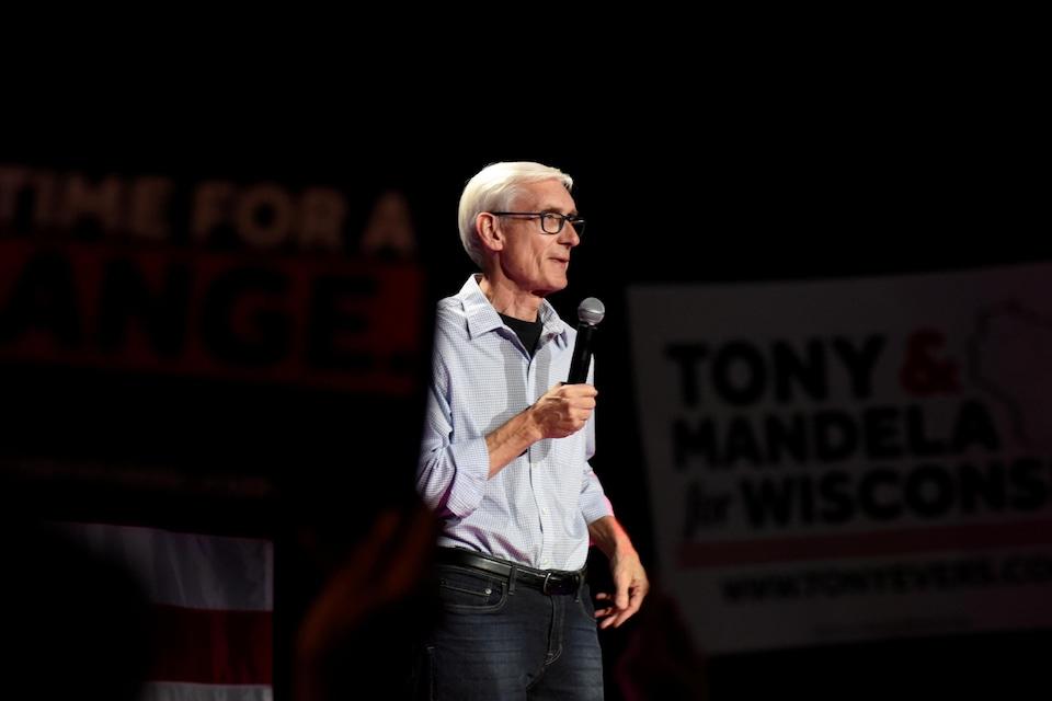 Tony Evers, le prochain gouverneur démocrate du Wisconsin.
