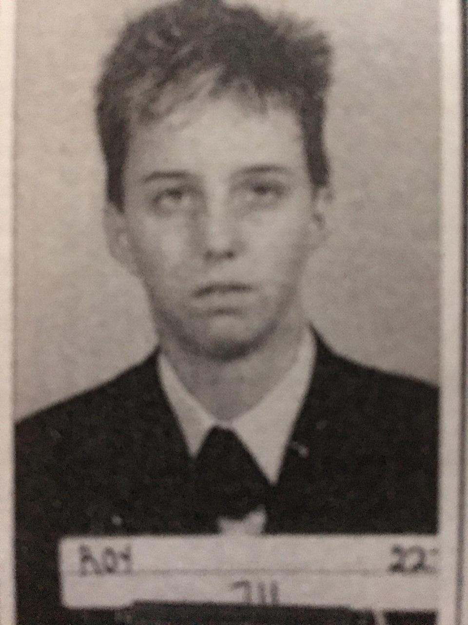 Martine Roy à 19 ans.