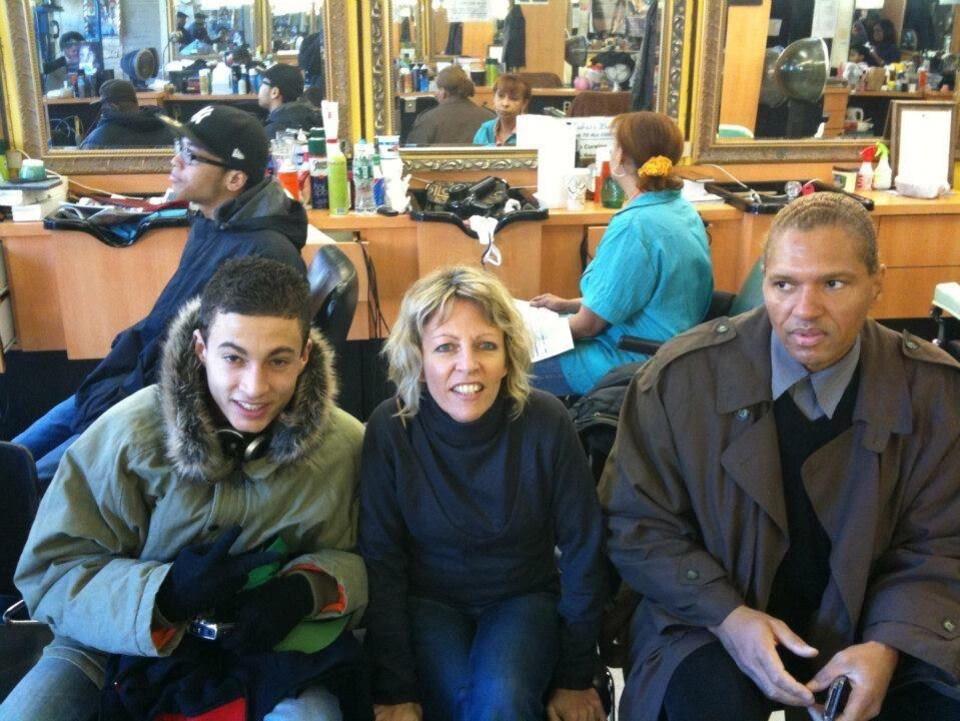 Véronique et Thierry Roy, avec leur fils Quentin, bien avant que ce dernier décide de tout plaquer pour se rendre en Syrie.