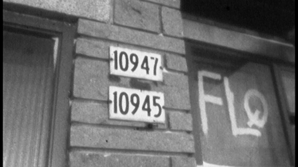 La résidence de la rue des Récollets, à Montréal-Nord, où étaient terrés des membres de la cellule Libération du FLQ.