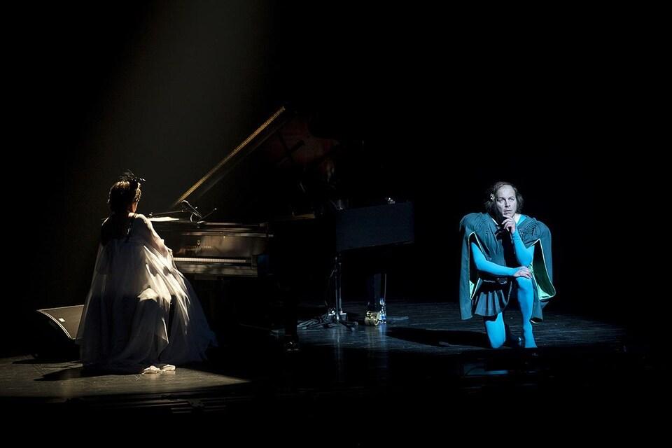 Katerine au théâtre Maisonneuve aux 29es FrancoFolies de Montréal