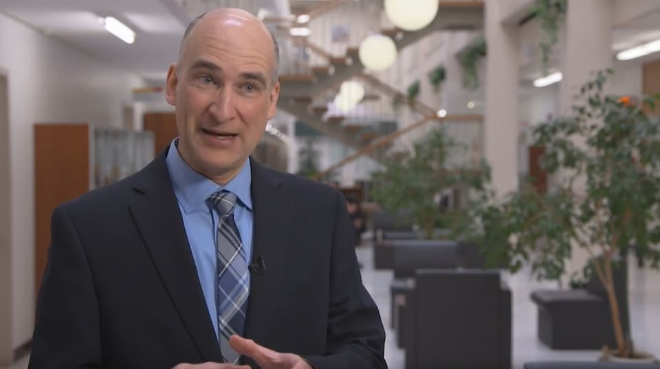 François Brochu, professeur de droit à l'Université Laval