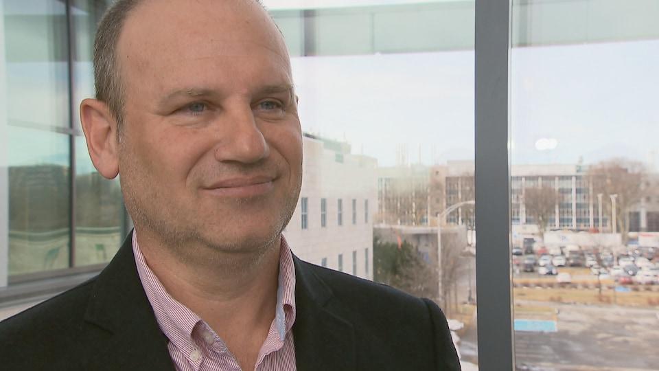 Frank Pons, directeur du Carré des affaires