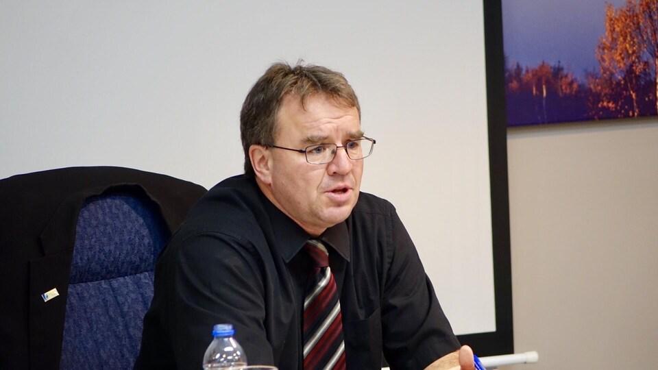 Le nouveau maire de Témiscouata-sur-le-Lac, Gaétan Ouellet.
