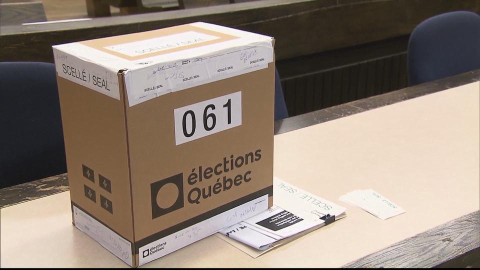 Boîte de scrutin 61