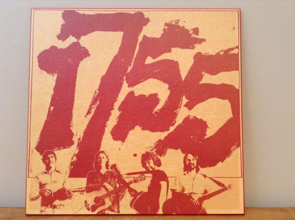 Une affiche de la première formation de 1755, avec Gerry à droite.