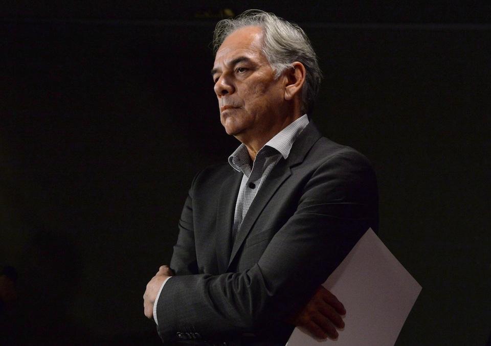 Le chef de l'Assemblée des Premières Nations Québec-Labrador (APNQL), Ghislain Picard