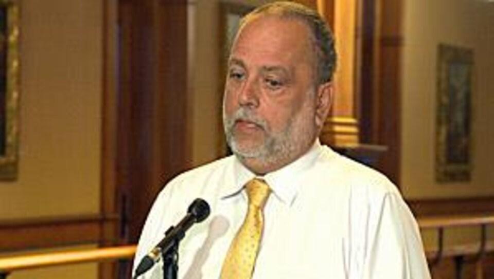 Le député Gilles Bisson.