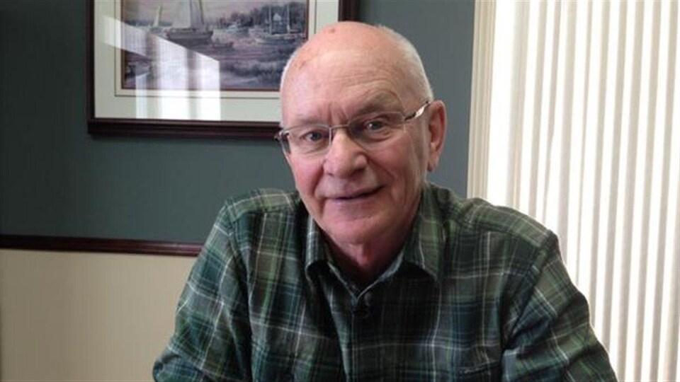 Gilles Thériault, représentant des transformateurs de crabe du Nouveau-Brunswick