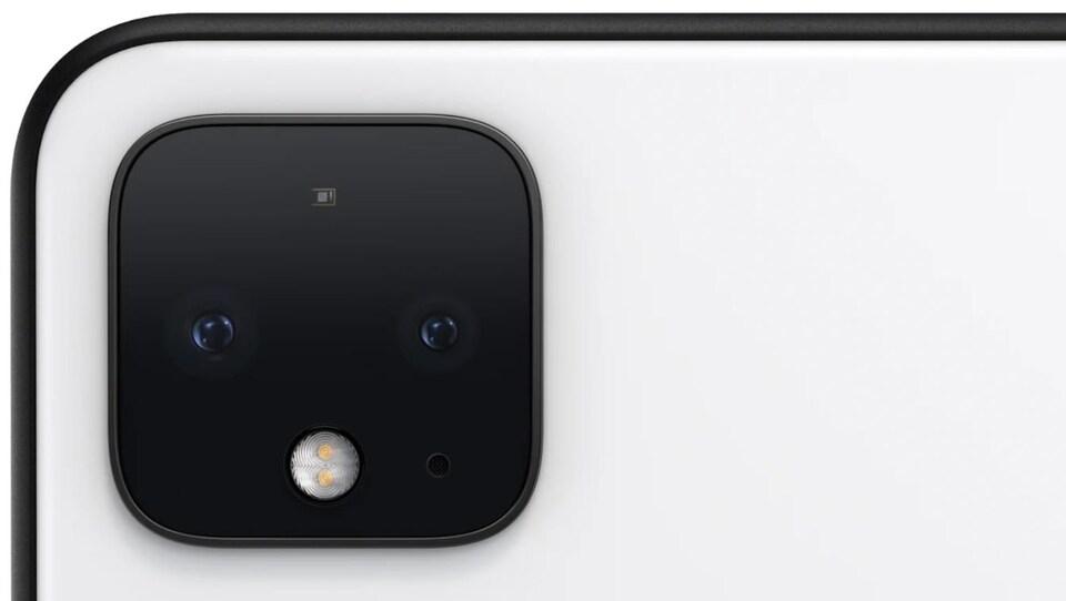 Le module de caméra du Google Pixel 4.