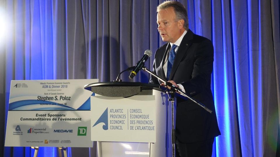 Stephen S. Poloz, gouverneur de la Banque du Canada.