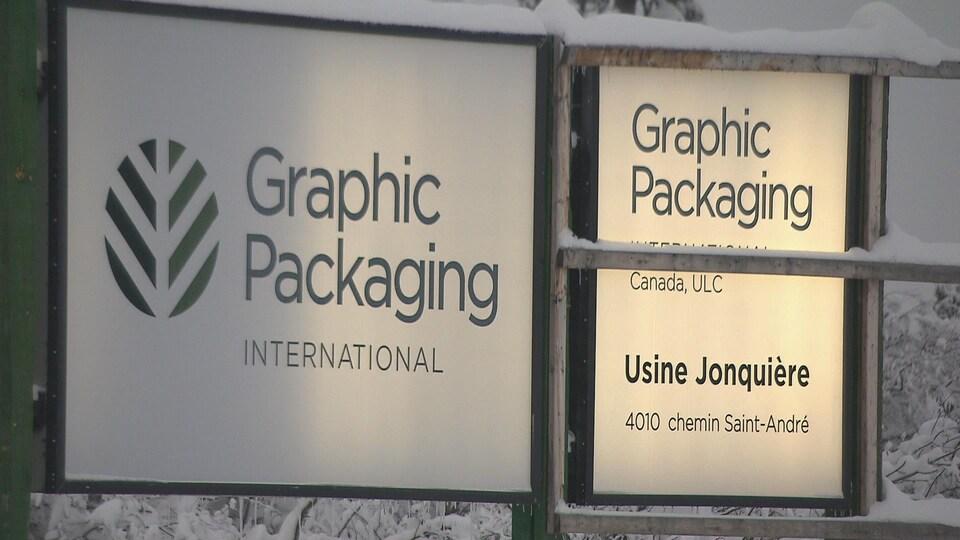 Affiche de Graphic Packaging