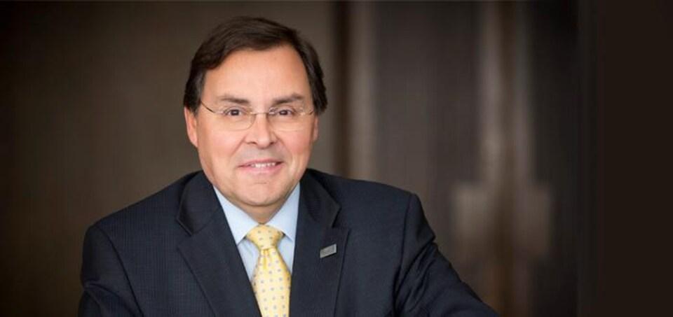 Guy Breton, recteur de l'Université de Montréal