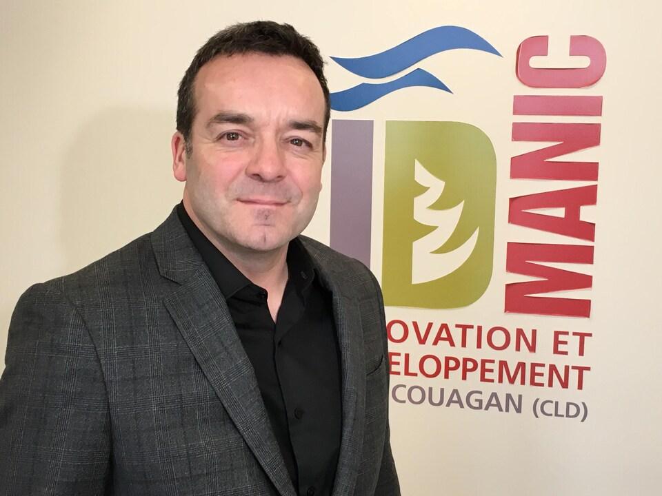 Le directeur du développement industriel d'ID Manicouagan, Guy Simard
