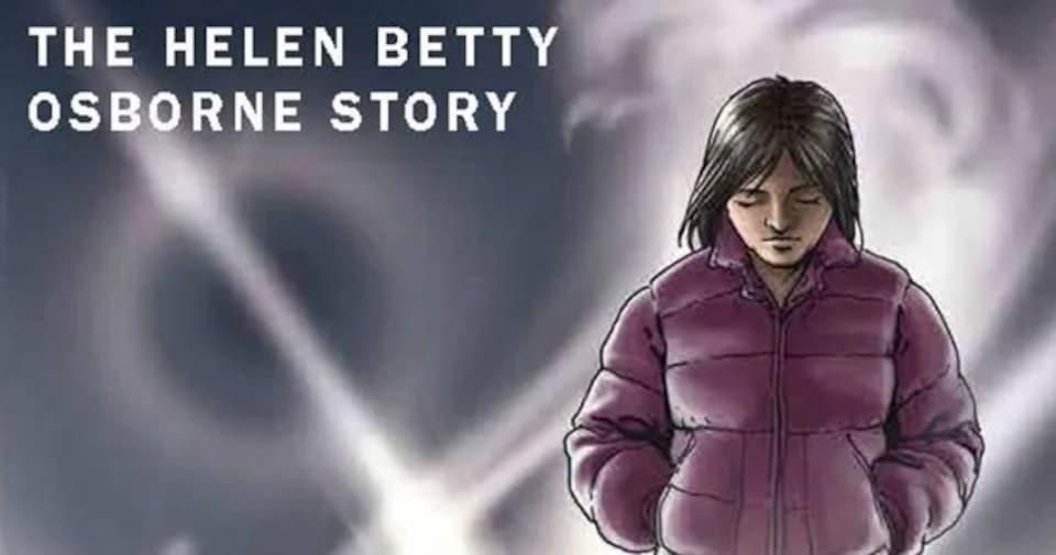 La couverture du livre d'Alexander Robertson montre une fille portant un manteau avec la tête tournée vers le sol.