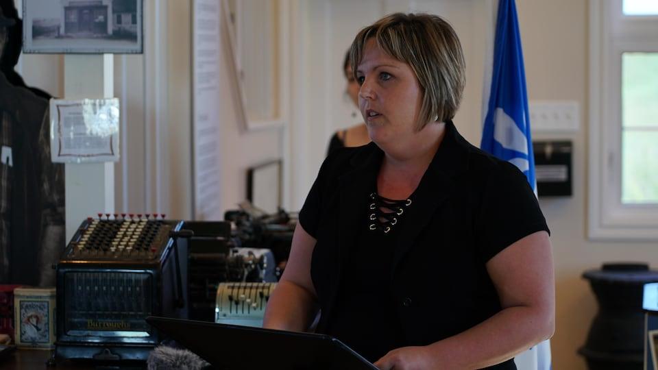 La directrice du CAMI, Helena Burke