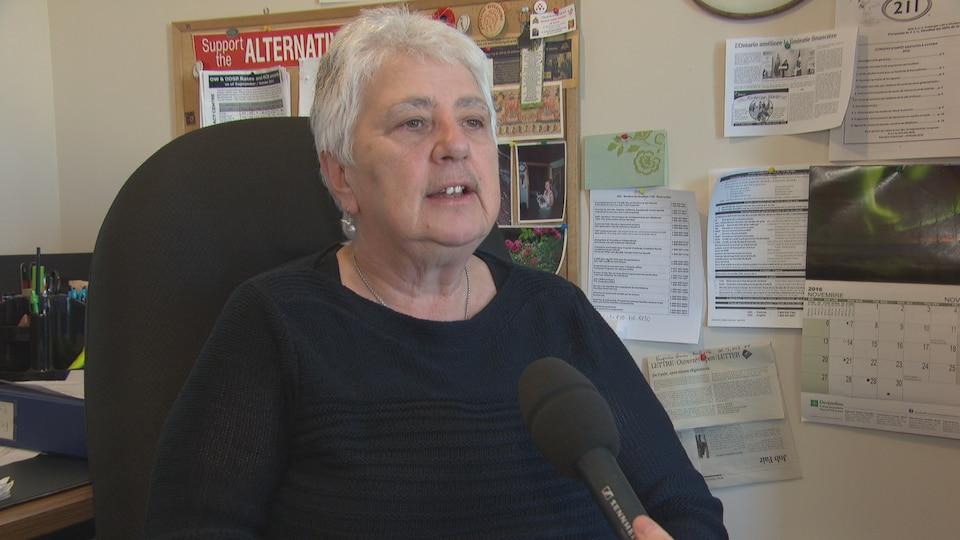 Hélène Ménard est directrice générale du Centre d'aide financière d'Entraide budgétaire Ottawa.