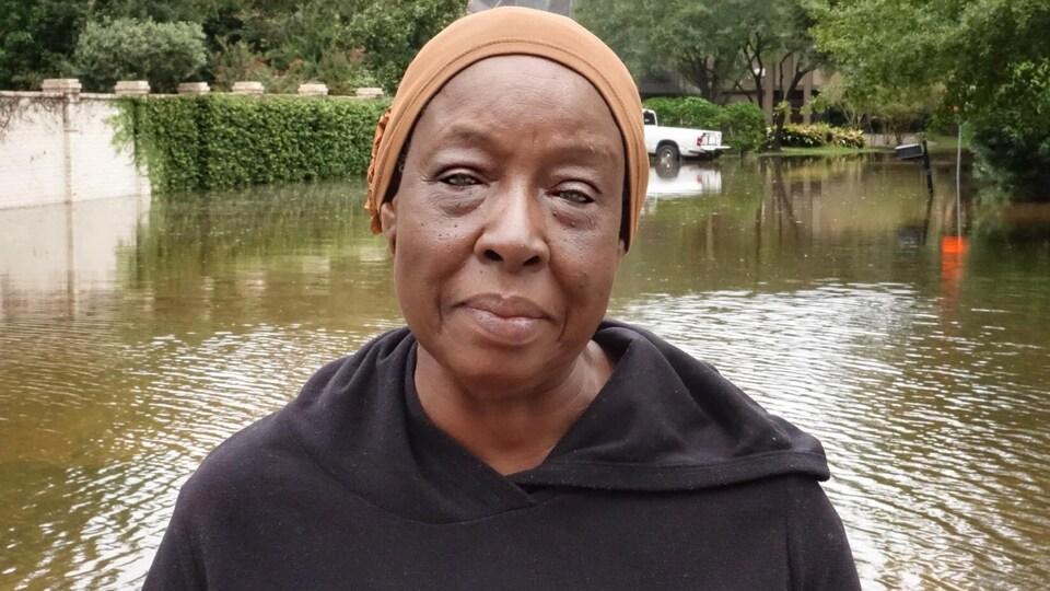 Racketta Trabocabore, qui est originaire du Burkina Faso, compte retourner dans son logement ce week-end.