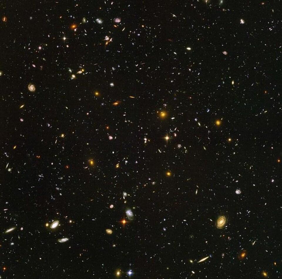 Le champ ultraprofond de Hubble.