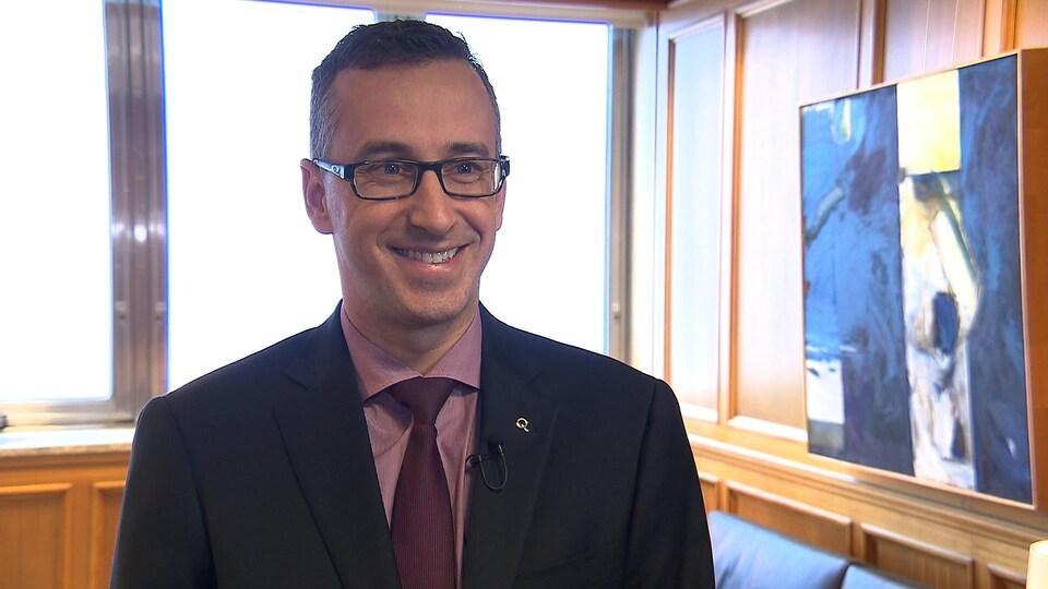 Éric Filion, vice-président clientèle d'Hydro-Québec
