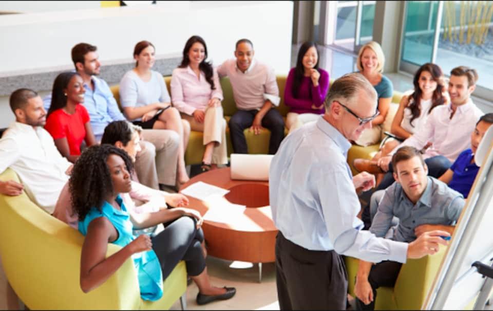 Photo générique utilisée par l'Institut MATCI pour faire la promotion de ses cours.