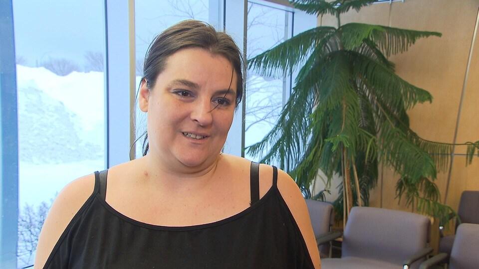 Nancy Dion, bénévole pour Revenus Canada et Revenus Québec.