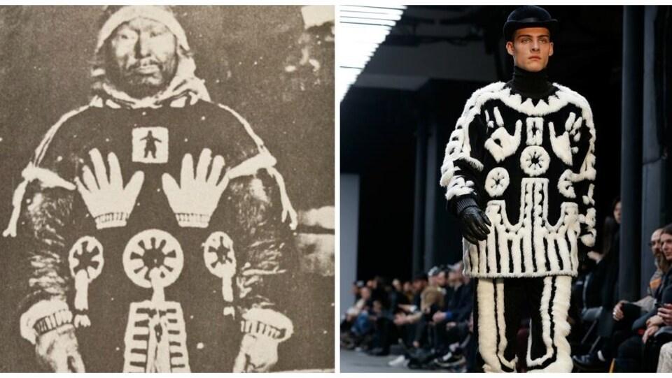 En 2015, une famille inuit était outrée de découvrir que le parka traditionnel familial avait été copié par un designer européen sans sa permission